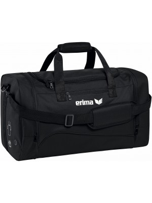 Erima club 1900 2.0 sporttas zwart Medium