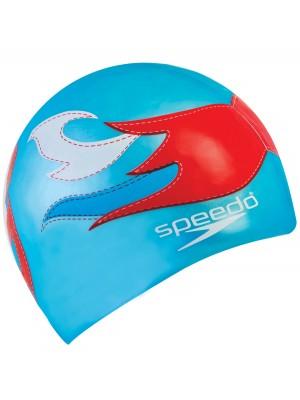 Speedo flat printed silicone cap