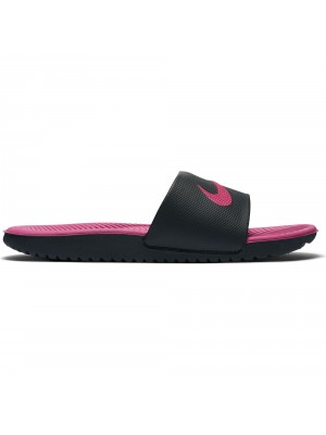 Nike Kawa (GS) Slipper zwart rose