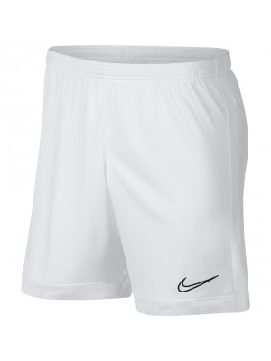 Nike dri-fit academy voetbalshort wit