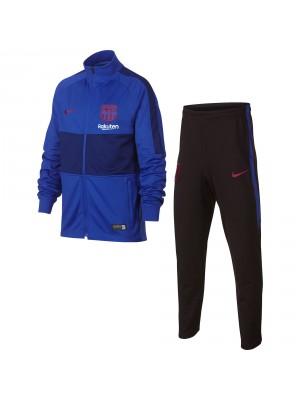 Nike YA kids FC Barcelona strike track suit