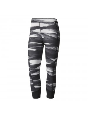 Adidas techfit tight capri printed