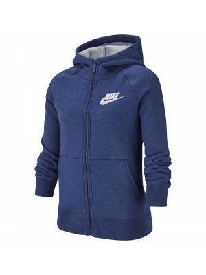Nike YA girls sportswear full zip jacket