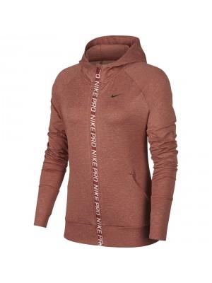Nike pro warm full zip