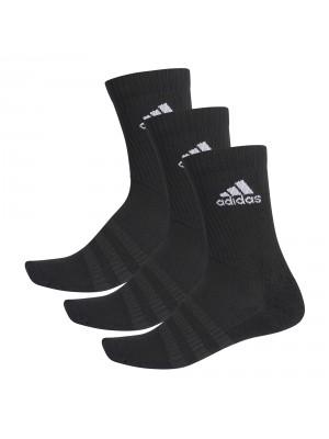Adidas cushioned crew socks 3-pack zwart
