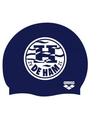 Arena De Ham badmuts blauw met logo