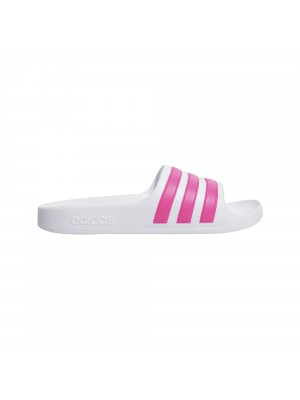 Adidas adilette aqua K wit