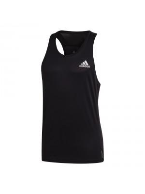 Adidas own the run singlet zwart