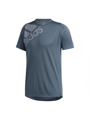 Adidas sportswear BOS fitness shirt blauw