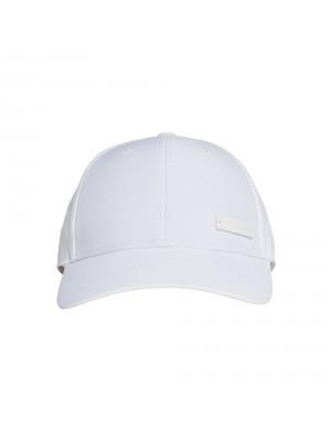 Adidas baseball cap light metallic wit