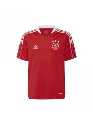 Adidas Ajax training jersey kids red