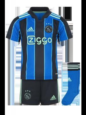 Adidas Ajax away mini kit 21/22