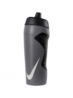 Nike hyperfuel sport water bottle 18oz grey