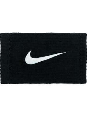 Nike dri-fit reveal double wide wristbands zwart