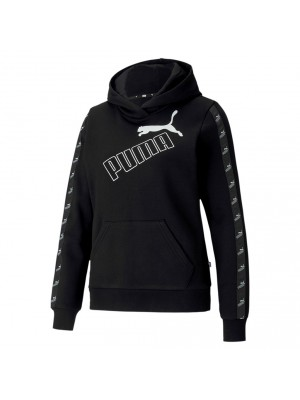 Puma amplified hoodie zwart