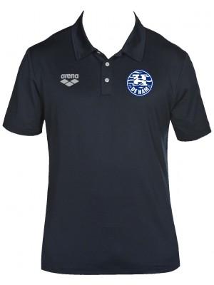 Arena Tl tech s/s polo navy blauw coach de Ham