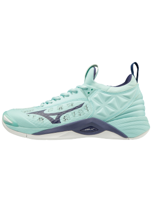 Mizuno wave momentum volleybalschoen blue
