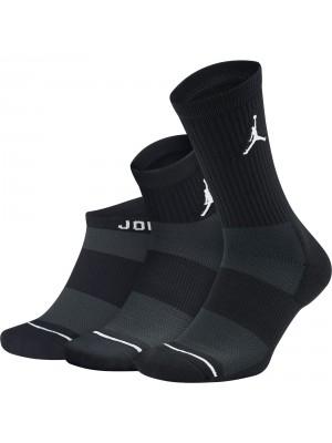 Nike Unisex Jordan Waterfall Socks (3 Pairs)