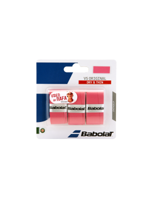 Babolat VS original  X3 overgrip rose