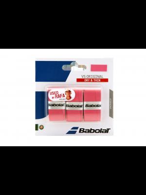 Babolat VS original  X3 overgrip rose