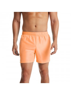 "Nike solid lap 5"" volley short oranje"