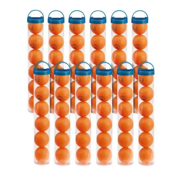 double circle III oranje