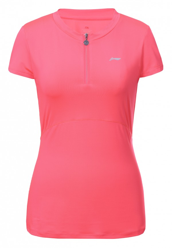 Li-Ning Mila 1/2 zip shirt rose