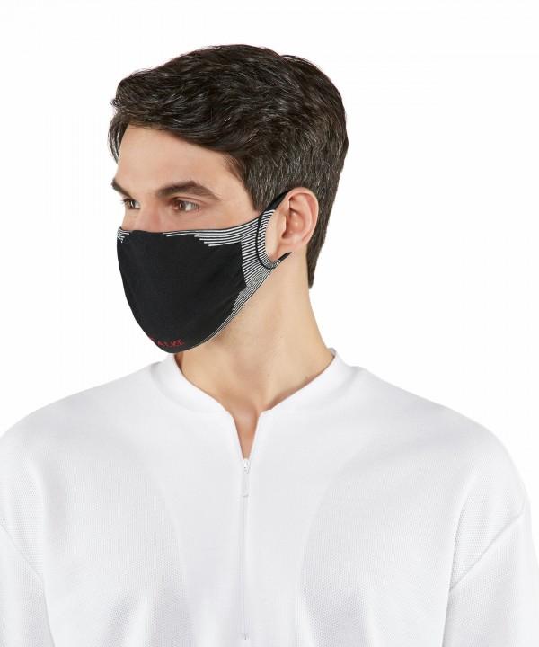 Falke mondkapje 2-Pack zwart