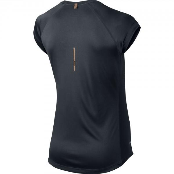 Nike miler s/s v-neck top