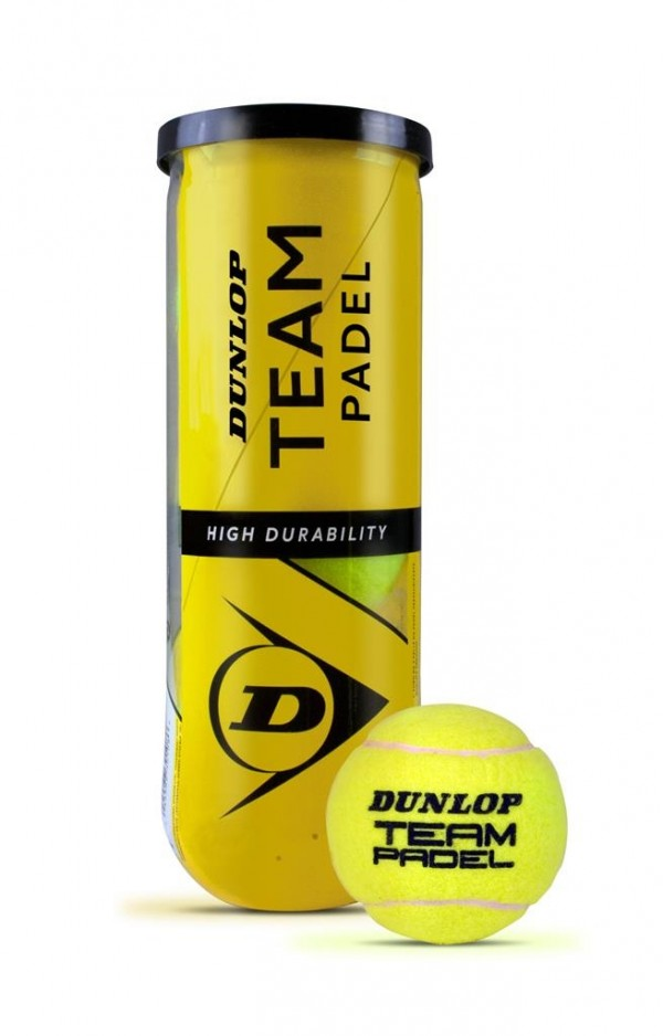 Dunlop padel team ballen 3-pack