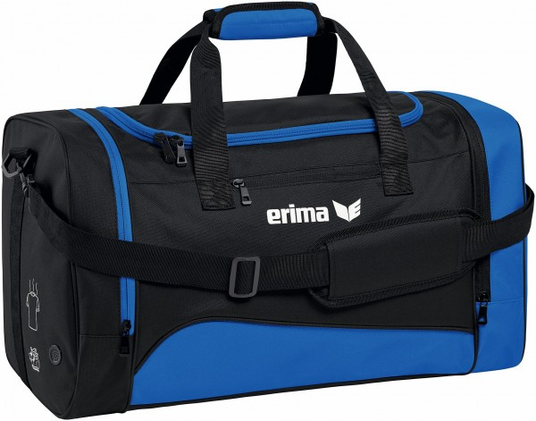 Erima club 1900 2.0 sporttas blauw Small