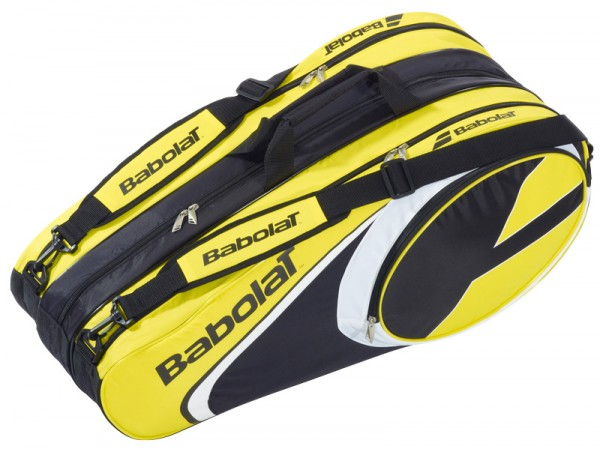 Babolat racket holder X12 club line yellow