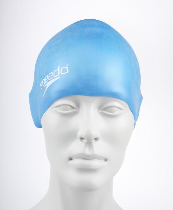 Speedo junior moulded silicone cap ass.