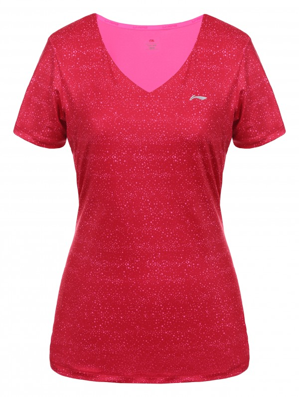 Li-Ning valerie tennis shirt rood