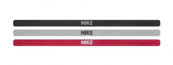 nike elastic hairbands large 3-pack