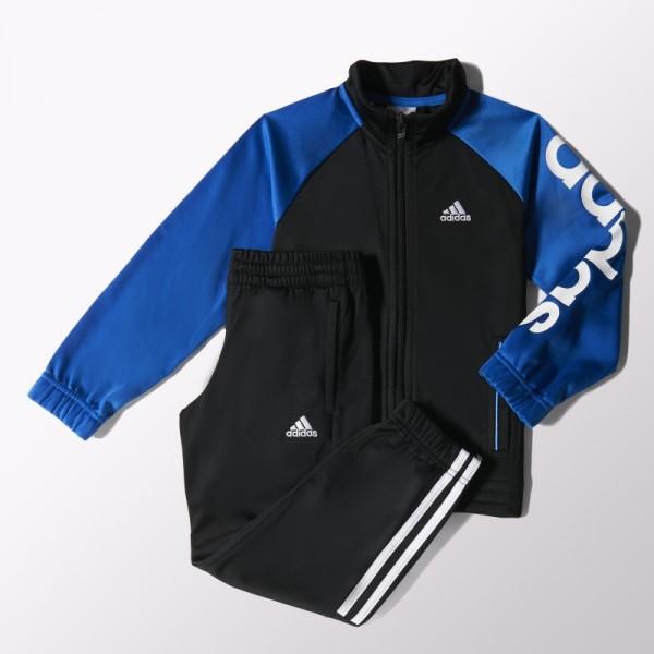Adidas YB tracksuit knitted closed hem