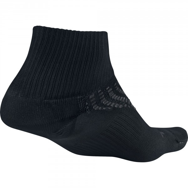 Nike anti-blister lightweight quarter running sock