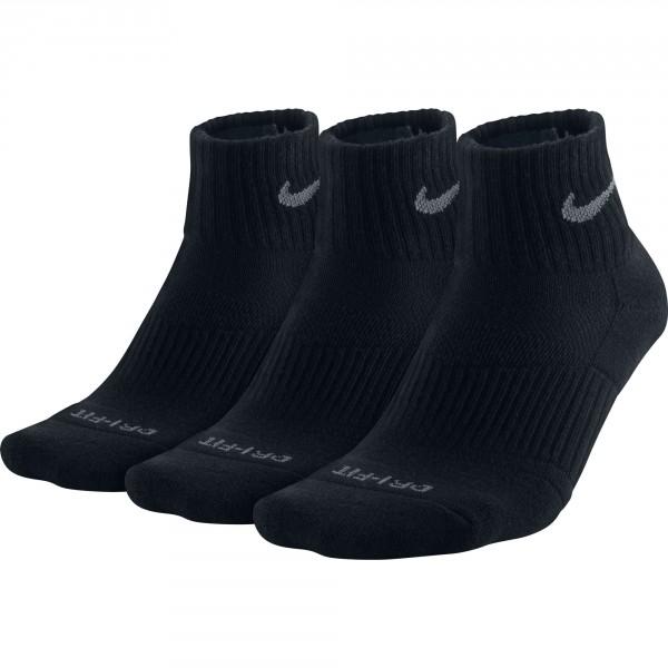 Nike 3-pack dri-fit cushion quarter