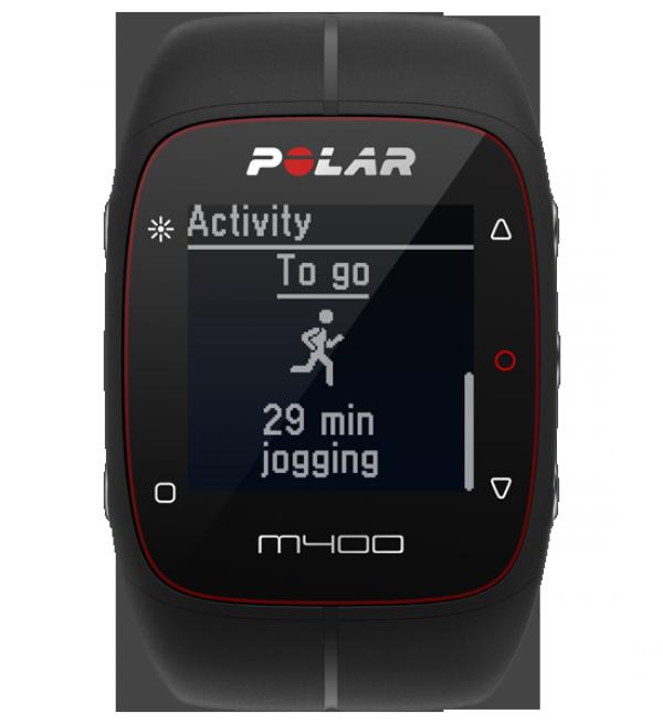 Polar M400 zwart